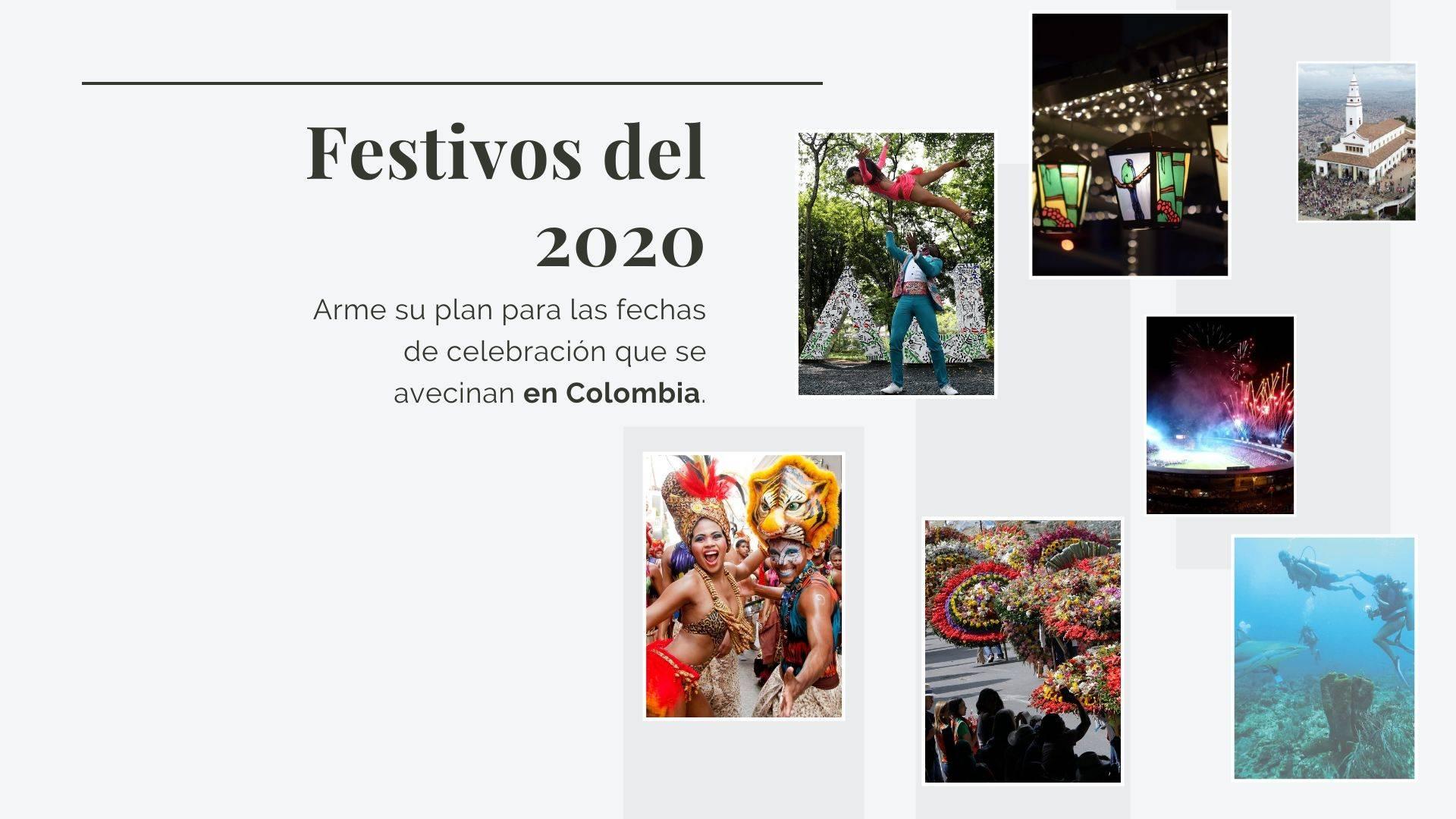 Calendario Del 2020 En Colombia Festivos Y Qué Se Celebra Otras Ciudades Colombia Eltiempo Com