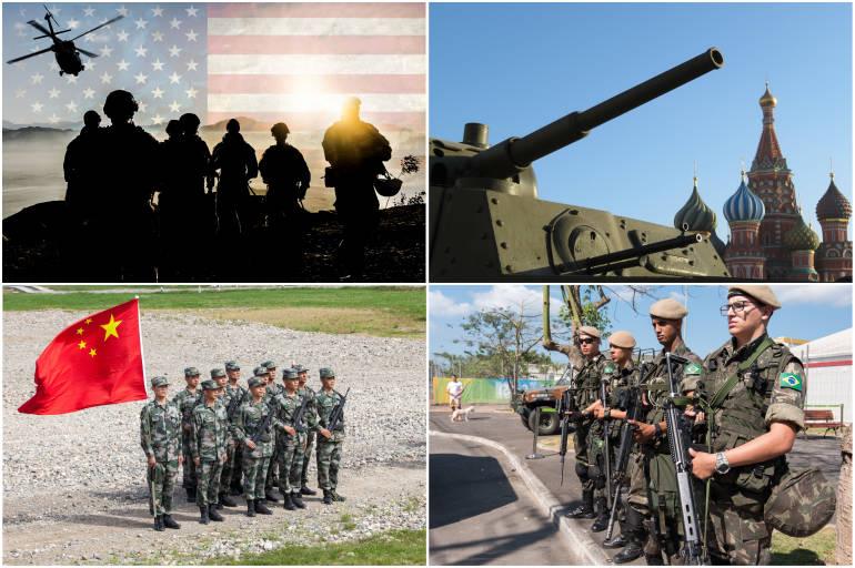 Ejércitos Más Poderosos Del Mundo En 2020 Más Regiones Internacional Eltiempo Com