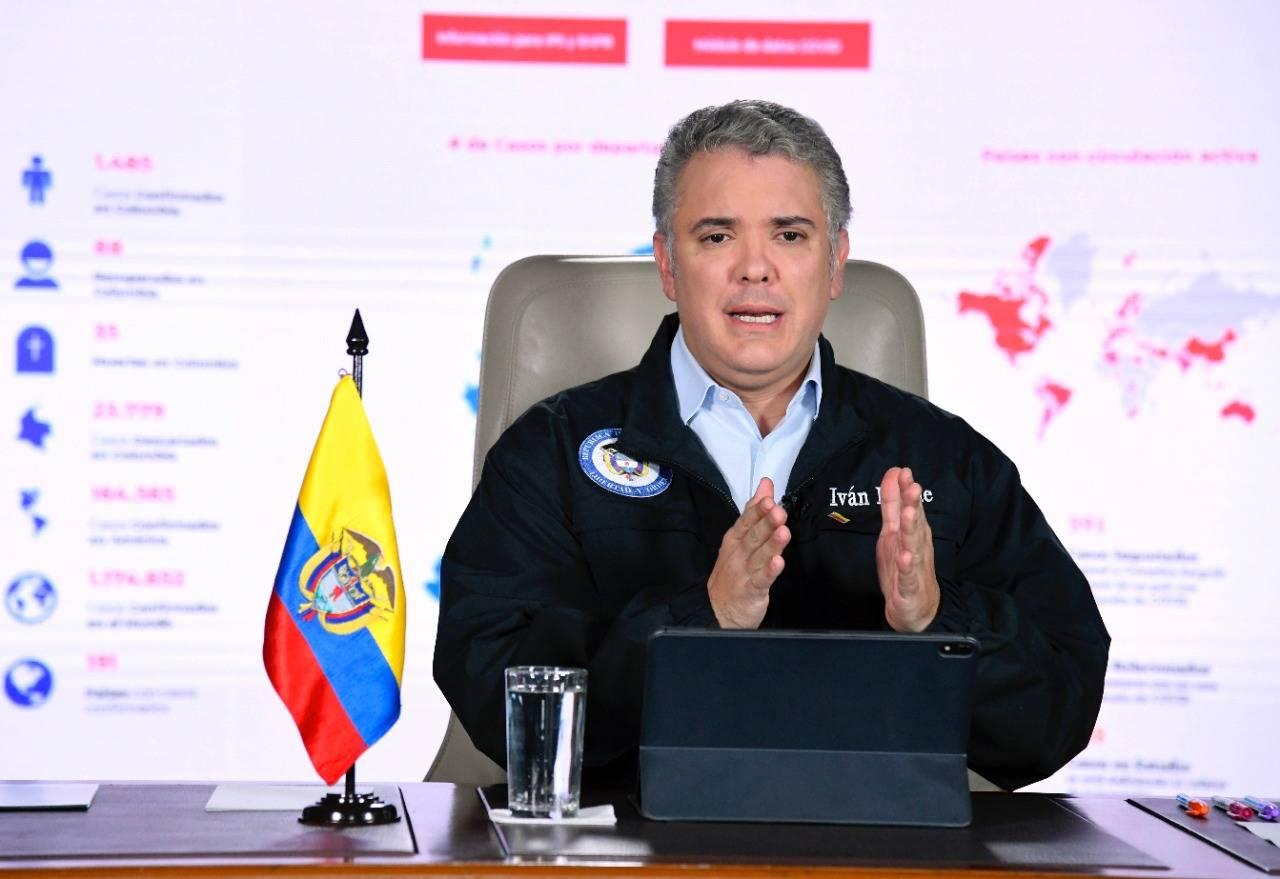 Coronavirus en Colombia: Duque dice que aeropuertos no son ...