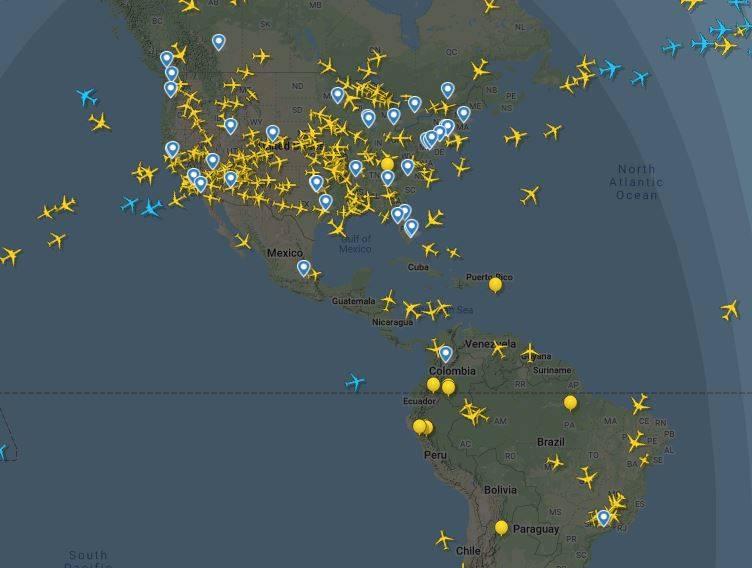 Cómo Es El Tráfico Aéreo En El Mundo Por El Coronavirus Más Regiones Internacional Eltiempo Com