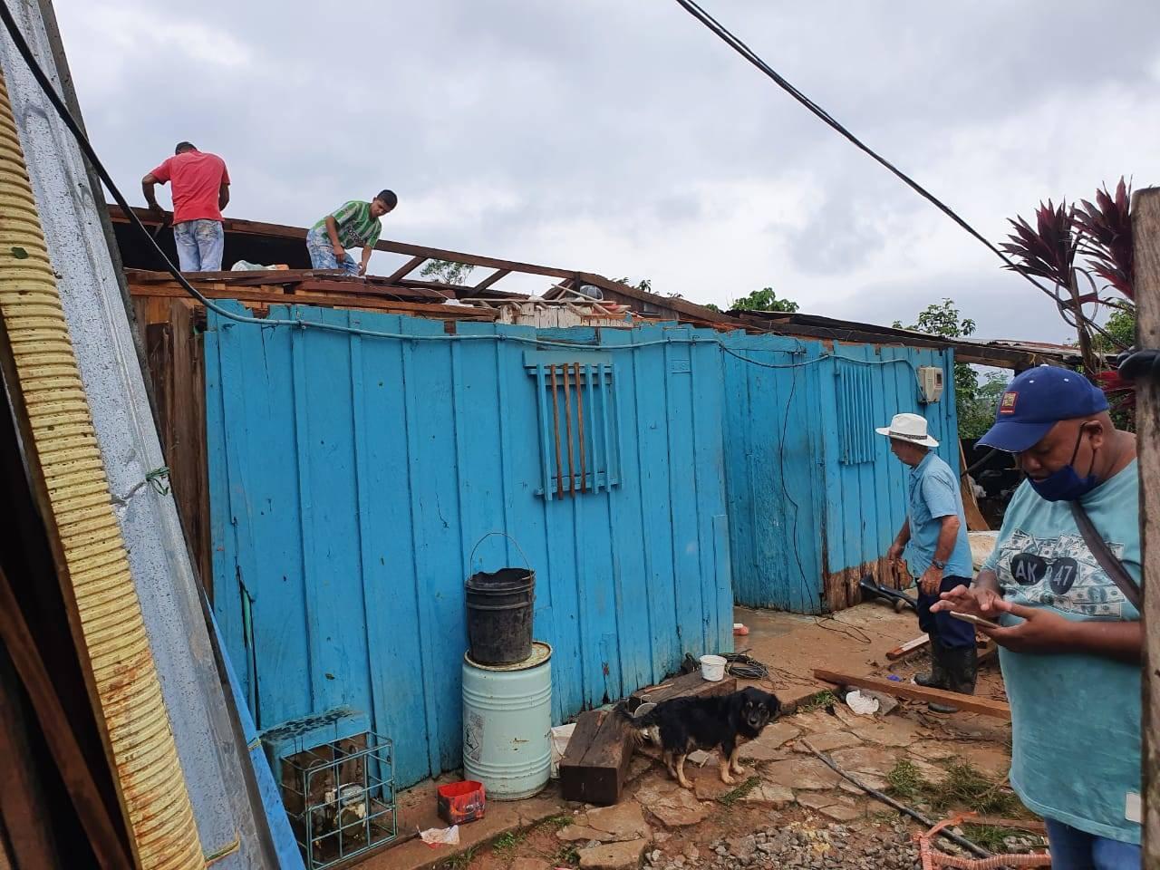 Actriz Porno De Los 80 Fallecida Prematuramente vendaval deja a 80 familias sin los techos de sus hogares