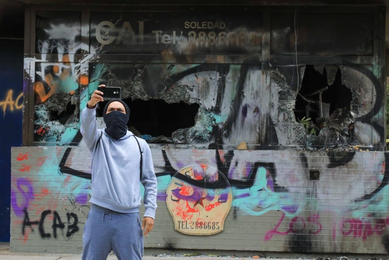 Disturbios en Bogotá: así quedó la capital tras noche de protestas - Bogotá  - ELTIEMPO.COM