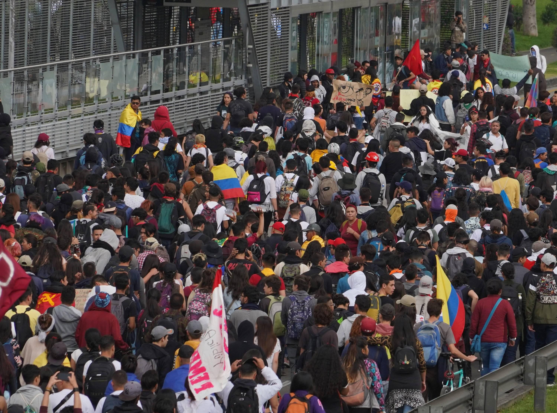 Paro nacional en vivo: protestas y movilizaciones en Colombia hoy 21 de  septiembre - Bogotá - ELTIEMPO.COM
