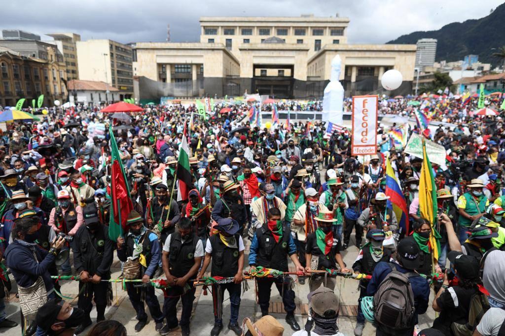 Durante el gobierno del presidente Iván Duque se duplicó la protesta social  en Colombia - Congreso - Política - ELTIEMPO.COM
