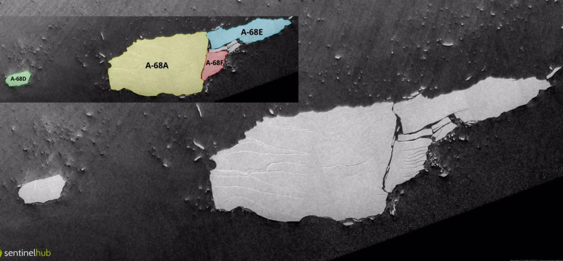 Calentamiento global: Iceberg colosal A-68A se rompe por fin en pedazos -  Medio Ambiente - Vida - ELTIEMPO.COM